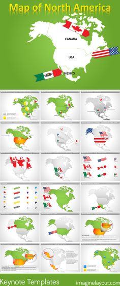 United States Of America PowerPoint Maps PowerPoint Maps Pinterest - Us map keynote