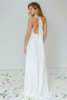 Dana Bolton is a London wedding dress designer who specialises in boho, ethereal, floaty and romantic style wedding dresses. French lace and softest silks creating a relaxed and unstructured look. Bohemian Style Wedding Dresses, Designer Wedding Dresses, Almost Perfect, London Wedding, French Lace, Silk Crepe, Simple Designs, Formal Dresses, Modern