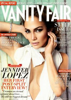 Vanity Fair cover   Jennifer Lopez