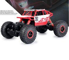 RC Auto 4WD 2,4 GHz Rock Crawler Rally klettern Auto 4x4 Doppel Motoren Bigfoot Auto Fernbedienung Modell Geländewagen Spielzeug