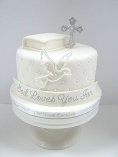 Confirmation Cakes for Boys   wonder if this one will be eaten?: