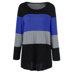 SHARE & Get it FREE | Plus Size Colorful Striped Comfy T-ShirtFor Fashion Lovers only:80,000+ Items·FREE SHIPPING Join Dresslily: Get YOUR $50 NOW!