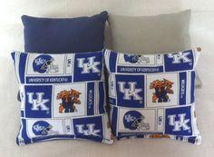 University of Kentucky Corn Hole Bags - Set of 8 on Etsy, $24.00