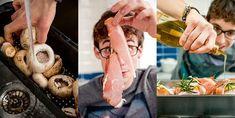 Hiszpańska tortilla z chorizo Chorizo, Shrimp, Meat, Food, Lunch Ideas, Essen, Meals, Yemek, Eten