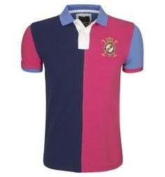 cheap ralph lauren outlet Hackett London Half Split Polo Shirt Navy Pink http://www.poloshirtoutlet.us/
