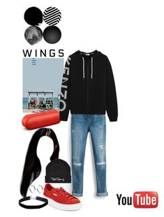 """Mirrored dance practice Spring Day - BTS (cover) 