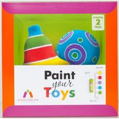 Décoration de Noël : Peints tes jouets