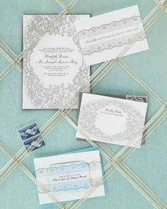 Lace Stationery