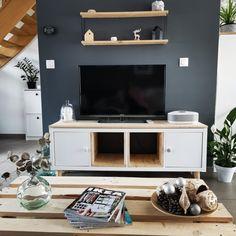 Ikea Hack, Deco, Flat Screen, Ikea Furniture, Living Room, Blood Plasma, Decor, Flatscreen, Deko