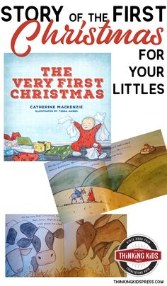 Story of the First Christmas for your Littles Teach the story of the first Christmas to your young children with The Very First Christmas -- the story of the Christmas Jesus arrived. Parenting Articles, Parenting Books, Parenting 101, First Christmas, Christmas Jesus, Homeschool Curriculum, Homeschool Kindergarten, Christian Parenting, Bible Lessons