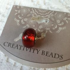NWT FITS PANDORA Red Charm Bead Brand new. ⚡Will not be priced lower. ❌No offers❌ Creativity Beads Jewelry