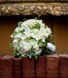 Bridal Bouquets and Wedding Flowers: Green and white bouquet