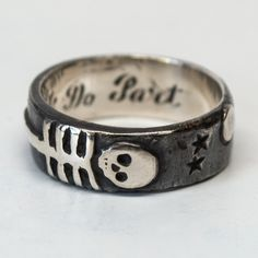 Till Death Us Do Part Ring by Peg & Awl @occulter