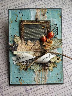 Мой любимый уголок: Осенняя открытка ко дню учителя!