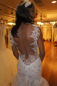 """Spider"" Back Winter Wedding Dress Wedding Bride, Dream Wedding, Wedding Wishes, Gold Wedding, Garden Wedding, Perfect Wedding, Bridal Gowns, Wedding Gowns, Backless Wedding"