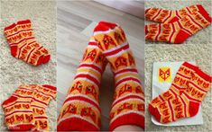 Hieman makeammat villasukat - Kun äiti kelaa Wool Socks, Knitting Patterns, Sewing, Crafts, Fashion, Moda, Woolen Socks, Knit Patterns, Needlework