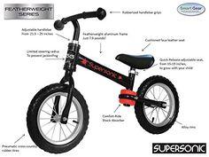 Supersonic Featherweight Smart Balance Bike  http://www.bestdealstoys.com/supersonic-featherweight-smart-balance-bike/