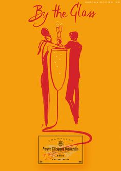 Veuve Clicquot, one of the most iconic champagne brands (LVMH group), began its collaboration with Florence Deygas in 2007 .