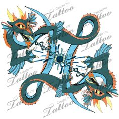 Gemini Tattoo Designs On Pinterest  Dragons And