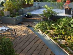 Bassin et terrasse bois terrasse en bois pinterest for Retrete leroy merlin
