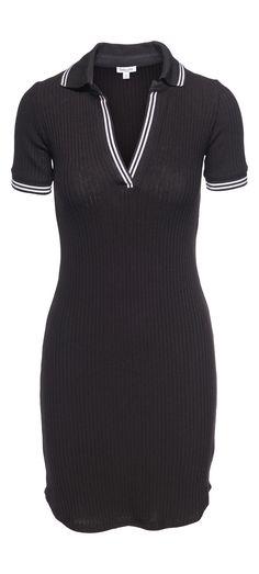 Splendid Polo Shirt Dress in Black / Manage Products / Catalog / Magento Admin