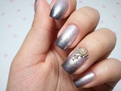 nail+designs | ... Of The Newest Wedding Trend: The Ring Finger Nails Decor » Photo 16
