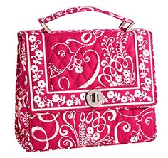 Brand New (NEVER EVER USED) and 100% authentic with original tags. #Vera Bradley, Julia Handbag. This features a hard case with turnlock closure, top handle for ...