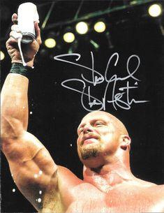 Stone Cold Steve Austin signed photo- wwe wcw wwf #Wrestling #WWE #WWF