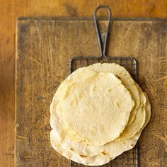 Make Your Own Corn Tortillas