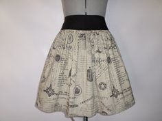 MultiFandom Geek Skirt by ComplementsByJo on Etsy