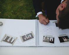 Ideas creativas para el libro de firmas de tu boda