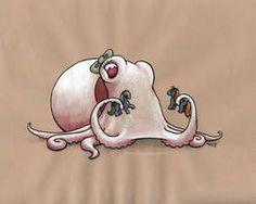 Albino Octopus by MegLyman on DeviantArt – octopus tattoo Octopus Painting, Octopus Artwork, Cthulhu, Art Fantaisiste, Octopus Tattoos, Albino, Ocean Art, Whimsical Art, Sea Creatures