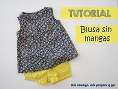 mis nancys, mis peques y yo, tutorial blusa sin mangas niña (patrón gratis talla 4 y 6 años)