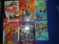 #Children #books lot #reading #DrDolittle, #LastChanceDetectives, #Bloodhounds, #Sherlock Jones, #Junk-Food Finders lot of 6 #Teach #home #school #homeschool #education #read FREE SHIPPING