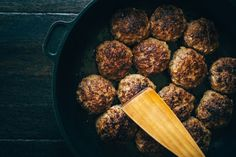 Classic Oven-Baked Italian Meatballs With Ground Beef and Pork