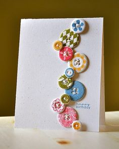 For the Love of Buttons {who knew you could do so much with buttons}
