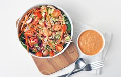 Raw red pepper ranch dressing
