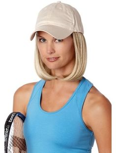 The Classic Hat Beige, Hats with Hair by Henry Margu Wigs offers a ready-to-wear fashion alternative with no styling needed. This cotton baseball cap with hair attached Henry Margu Wigs, Gold Blonde Highlights, Wig Hat, Classic Hats, Wig Stand, Alternative Hair, Short Styles, Hat Hairstyles