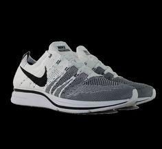 Nike Flyknit Trainer + White Black - 532984-100