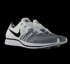 Nike Flyknit Trainer + White Black - 532984-100