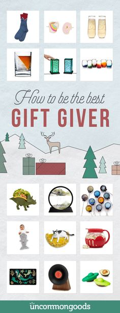 Discover unique gifts that will help you be the best gift-giver this holiday season.