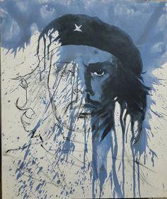"Saatchi Art Artist Ulku Yilmaz; Painting, ""Che Guevara"" #art"