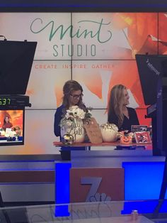 Mint, Studio, Tv, News, Inspiration, Biblical Inspiration, Television Set, Studios, Inspirational