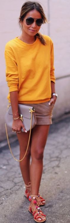 Mustard Yellow Sweater Fal Inso by Sincerely Jules