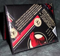 Wallet from Repurposed North Coast Brewing Red Seal Ale beer labels by squigglechick, $18.00