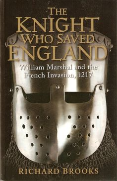 Today I have a brand new book review for you all. Come visit me at Sharon's Love of Books at http://sharonsloveofbooks.blogspot.com/ to read about THE KNIGHT WHO SAVED ENGLAND: WILLIAM MARSHAL AND THE FRENCH INVASION, 1217, by Richard Brooks. Check out what I think are the reasons I'm glad I read this exciting book and what I learned about this man for all centuries.