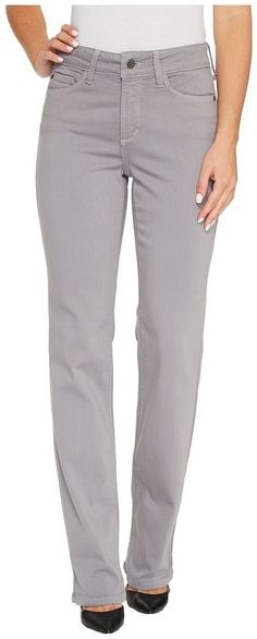 NYDJ Marilyn Straight Jeans in Luxury Touch Denim in Mineral Women's Jeans