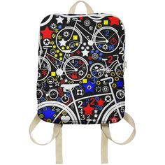 Shop BIKES Backpack by THE GRIFFIN PASSANT STREETWEAR (STREETWEAR) | Print All Over Me