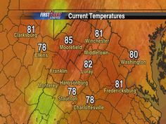 Sept. 13: State Temps
