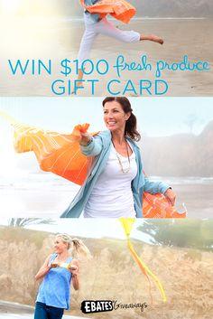 win $100 Fresh Produce Gift Card